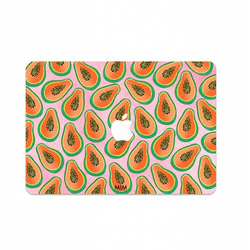PAPAYA PARADISE - MIM LAPTOP STICKER