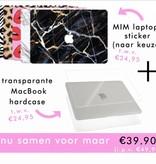 CARBON MARBLE (laptop sticker) - MIM CLASSICS  COLLECTION