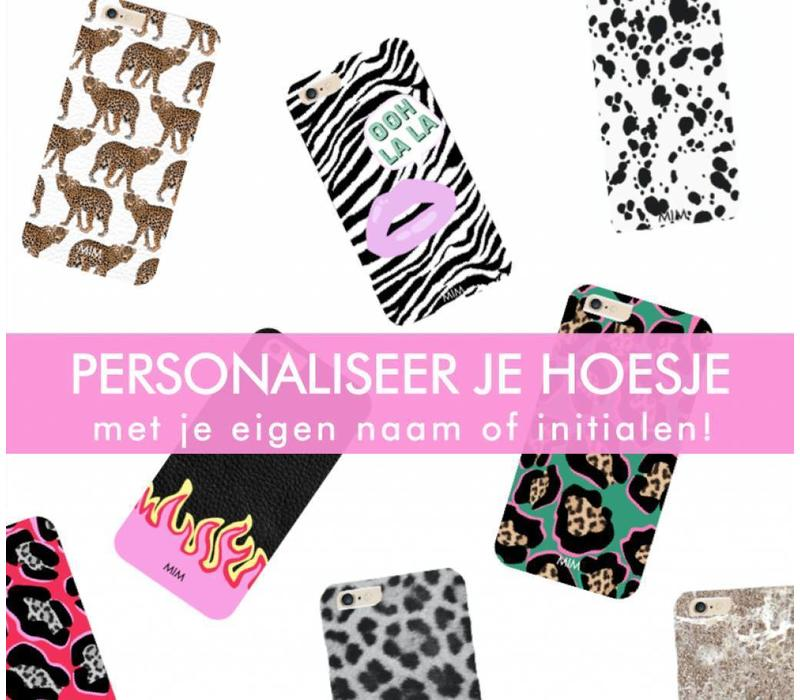 PUT YOUR NAME ON IT (hard case) - gepersonaliseerd