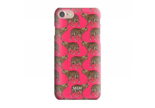 CHEEKY CHEETAH RED  - MIM HARDCASE (last chance to buy)
