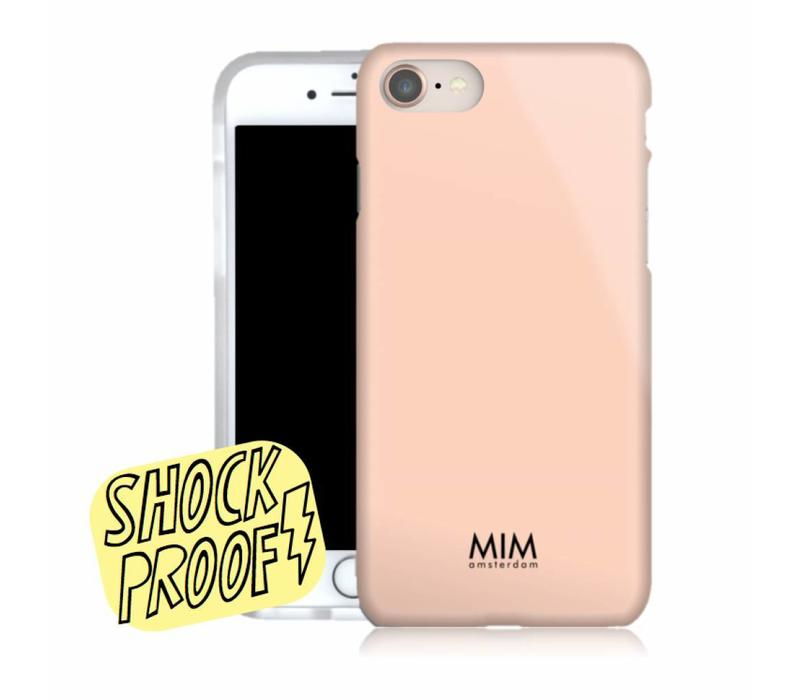 MATTE PEACH - MIM SOFTCASE (shockproof)