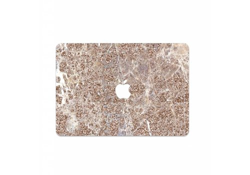 TAUPE SPARKLES - MIM LAPTOP STICKER