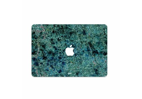 GREEN SPARKLES - MIM LAPTOP STICKER (last chance to buy)
