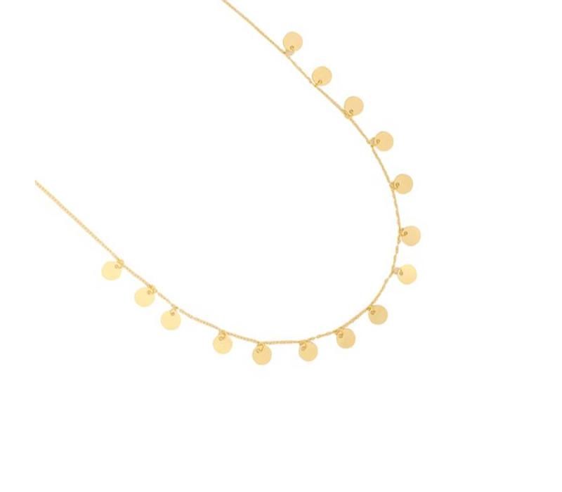 LOTS OF CIRCLES NECKLACE