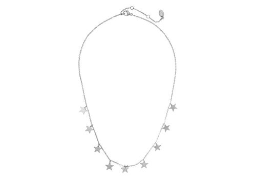 MIM LOTS OF STARS NECKLACE - SILVER (UITVERKOCHT)