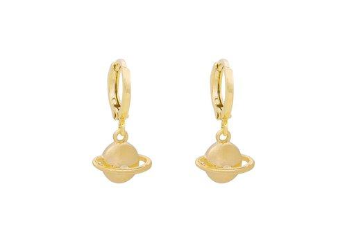 PLUTO EARRINGS - GOLD