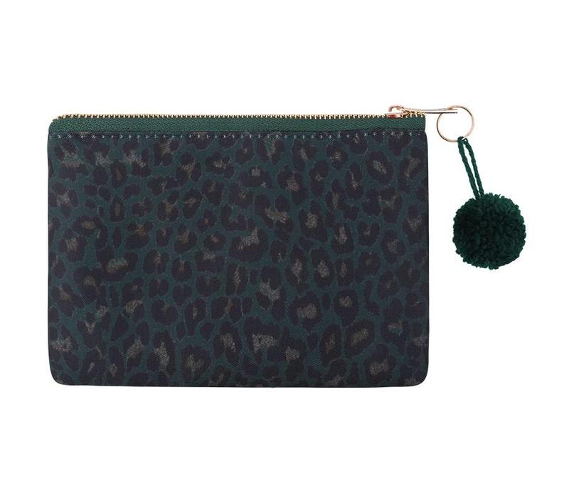GREEN SAFARI MAKE-UP BAG