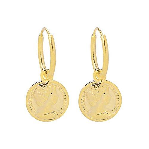 GOLDEN COIN EARRINGS (UITVERKOCHT)