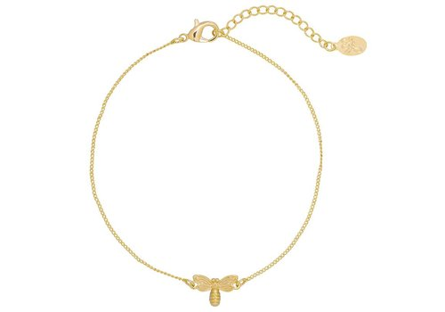 MIM FLYING BEE BRACELET - GOLD (UITVERKOCHT)