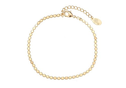 MIM FULL OF CIRCLES BRACELET - GOLD (UITVERKOCHT)