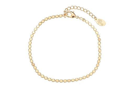 MIM FULL OF CIRCLES BRACELET - GOLD