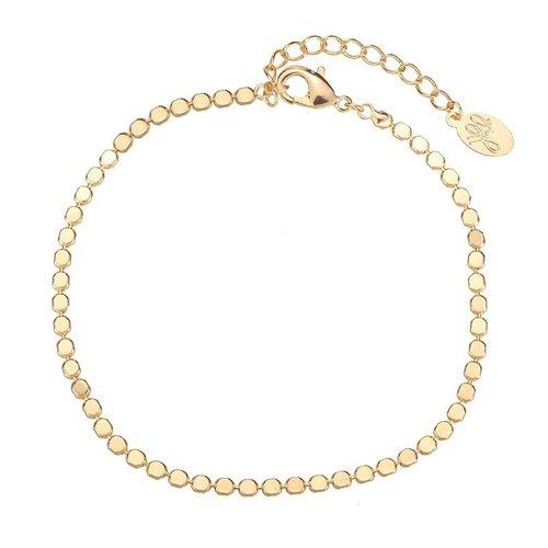 FULL OF CIRCLES BRACELET - GOLD (UITVERKOCHT)
