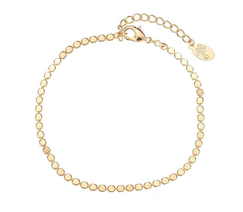 FULL OF CIRCLES BRACELET - GOLD