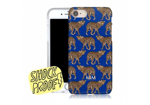CHEEKY CHEETAH BLUE - MIM SOFTCASE