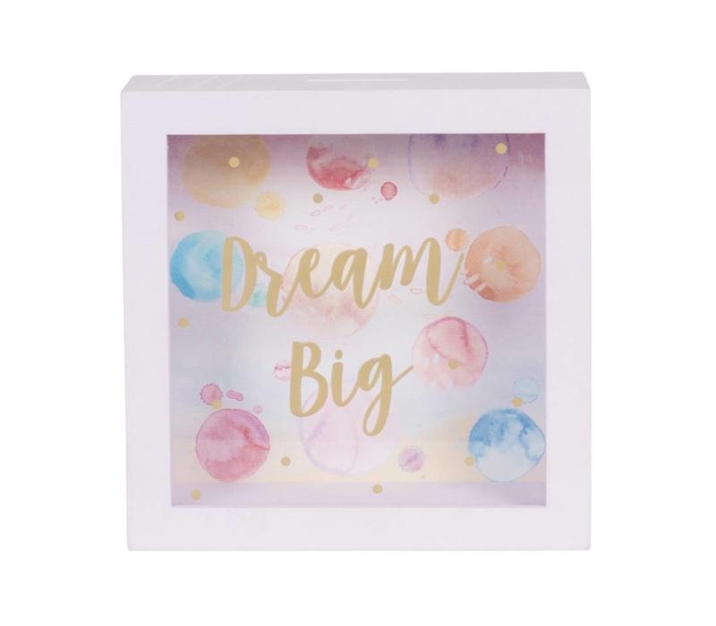 DREAM BIG MONEY BOX