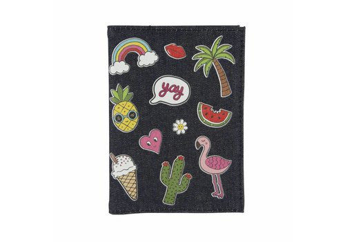 MIM PATCHES PASSPORT COVER