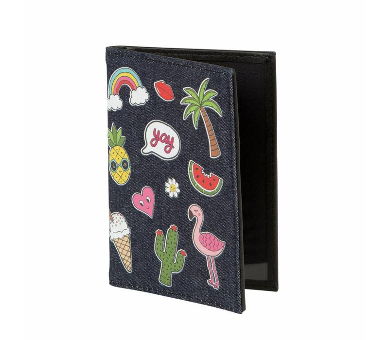 PATCHES PASSPORT COVER