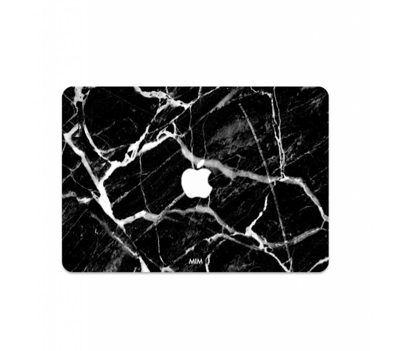 CARBON MARBLE - MIM LAPTOP STICKER