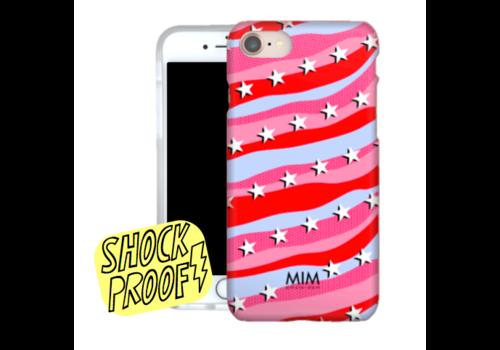 MIM RAINBOW ROCKSTARS RED - MIM SOFTCASE (uitverkocht)