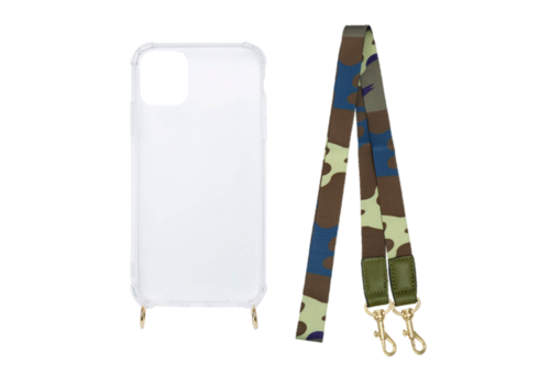 MIM ARMY STRAP (shockproof case + koord)