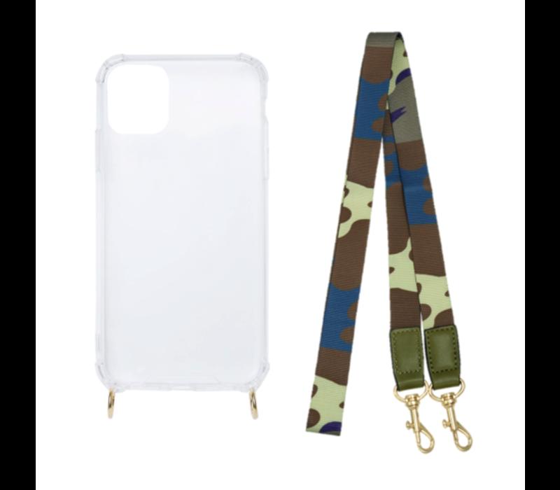 ARMY STRAP (shockproof case + koord)