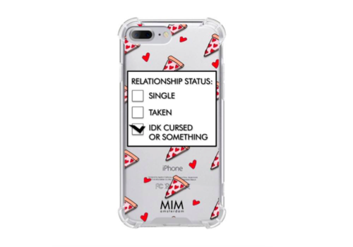 MIM NO NEED FOR A LOVER - MIM TRANSPARANT SOFTCASE