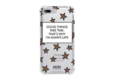 MIM FASHIONABLY LATE - MIM TRANSPARANT SOFTCASE