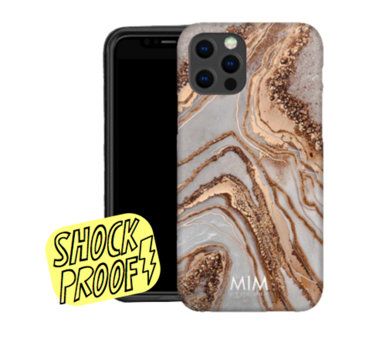 GLAMOUR MARBLE - MIM SOFTCASE (SHOCKPROOF)