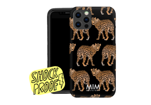 CHEEKY CHEETAH BLACK - MIM SOFTCASE