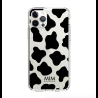 O MY COW BLACK GEL CASE (shockproof)