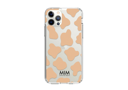 O MY COW TAUPE GEL CASE (shockproof)