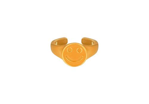 MIM SMILEY RING (meerdere kleuren)