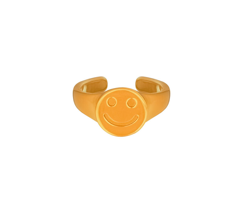 SMILEY RING (one size)