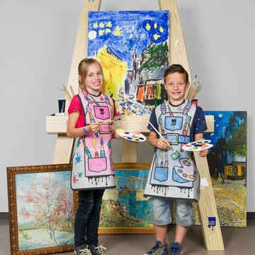 Colour your own painting apron