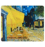 Mousepad Van Gogh Terrace of a café at night
