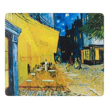 Mousepad 'Terrace of a Café at Night' - Vincent van Gogh
