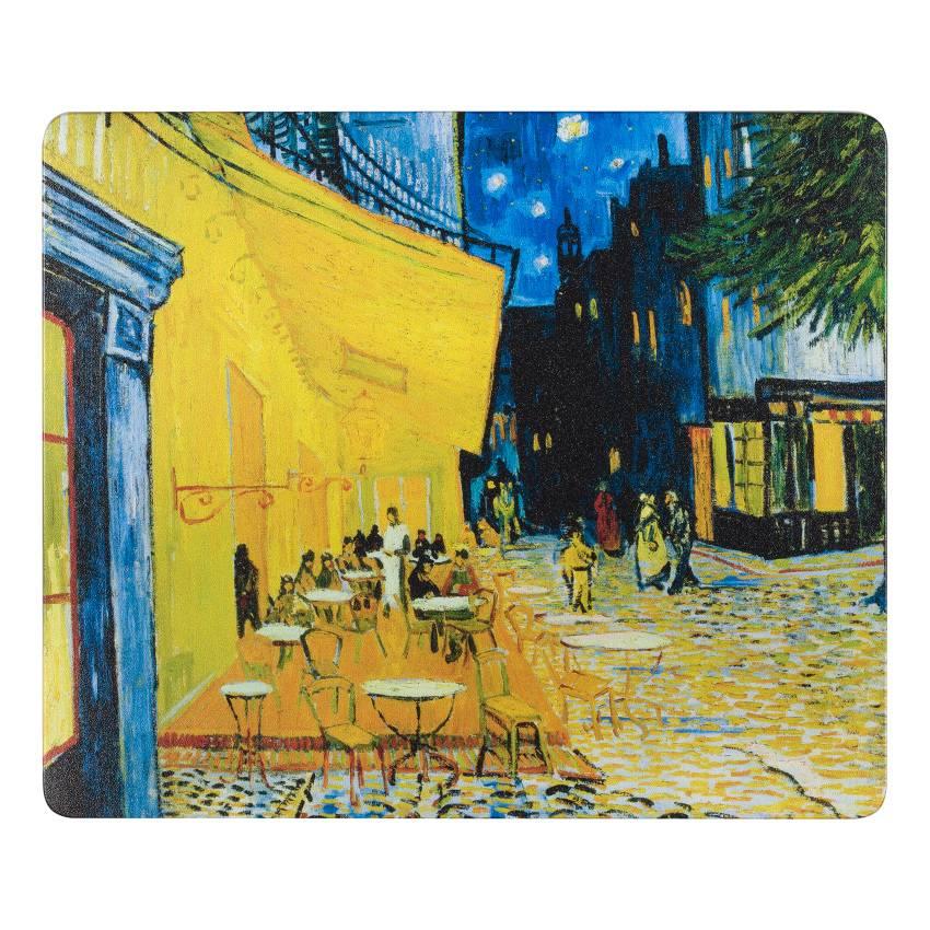 Mousepad 'Terrace of a Café at Night' - Vincent van Gogh
