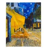 Reproduction canvas Van Gogh Terrace of a café at night