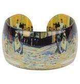 Resin Armband 'Caféterras bij Nacht' - Vincent van Gogh