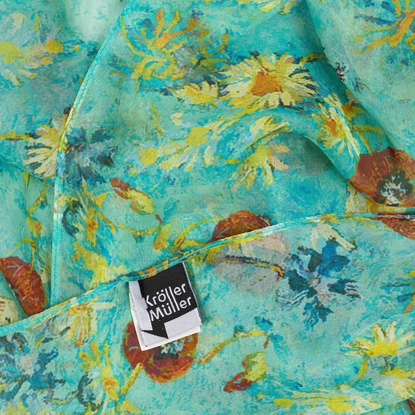 Sjaal zijde Van Gogh Portret van Joseph Roulin
