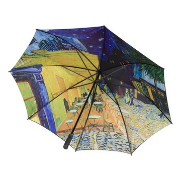 Umbrella Van Gogh Terrace of a café at night