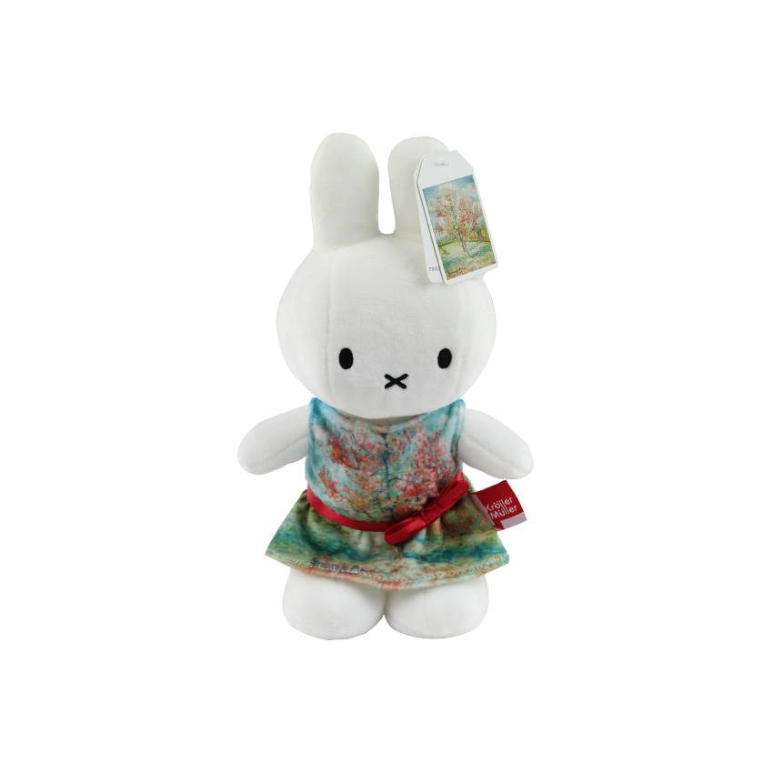 Miffy cuddly toy Van Gogh Pink peach trees