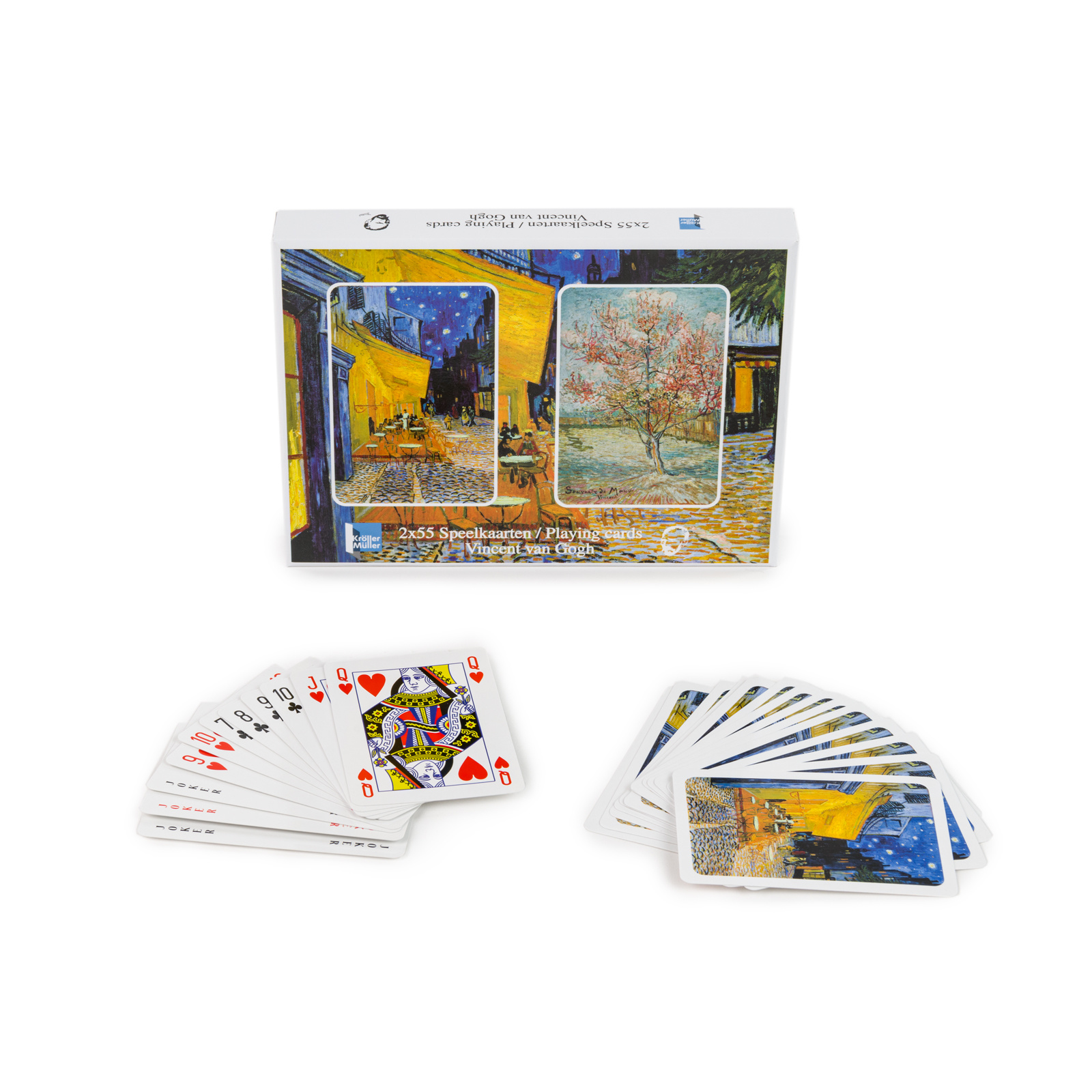 Speelkaarten Vincent van Gogh