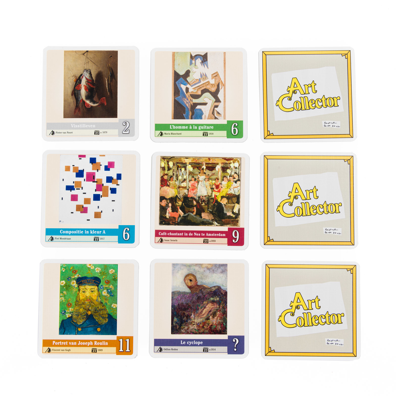 Bordspel Art  Collector - 999 Games