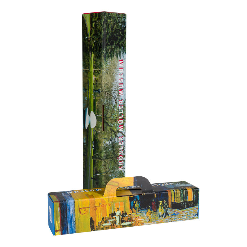 Reproductie Van Gogh  Roze perzikbomen