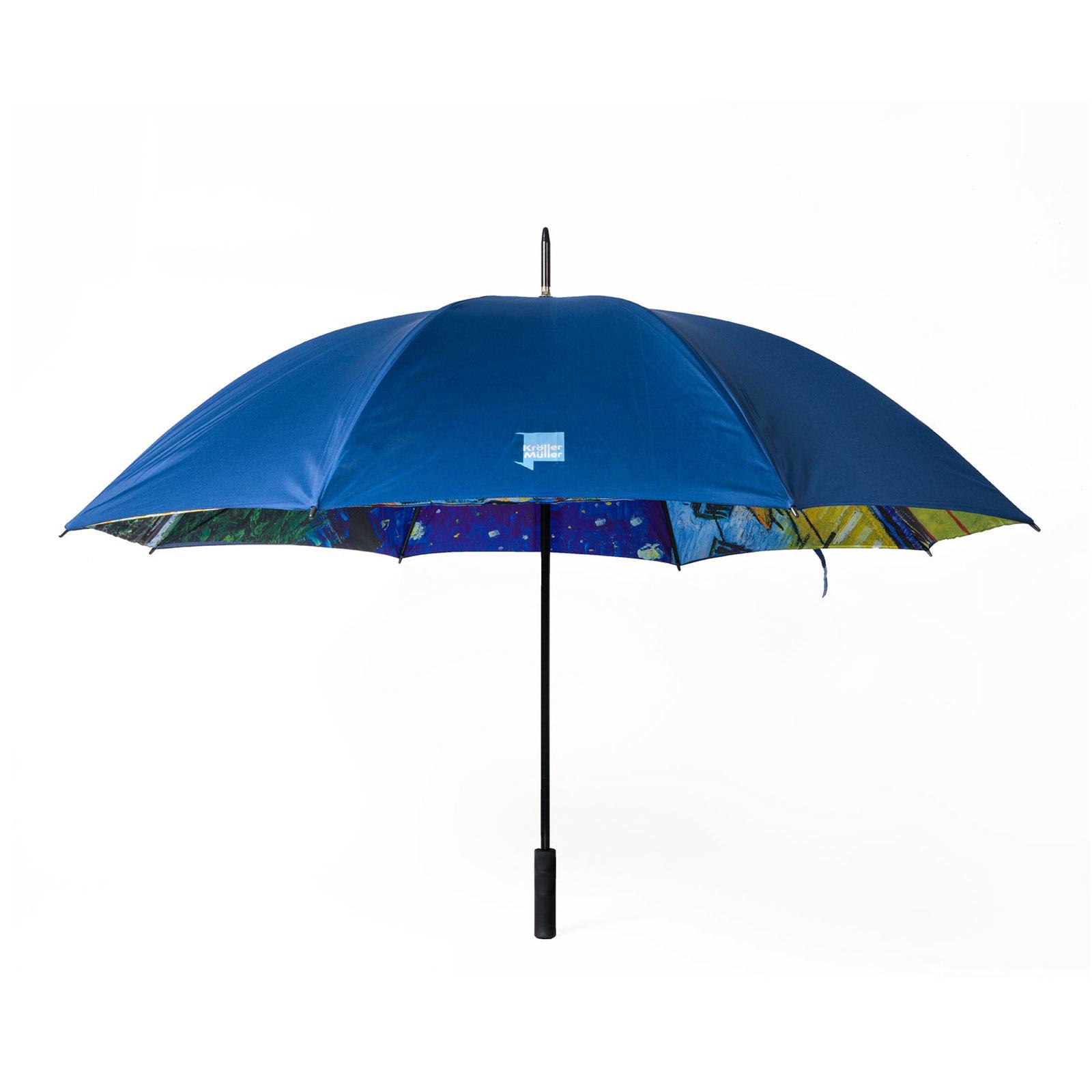 Umbrella Van Gogh Terrace of a café at night