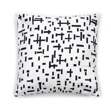 Looking for a white cushion cover with Mondriaan print