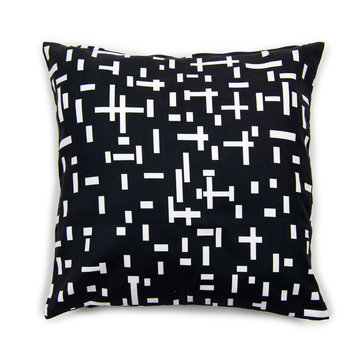 Looking for a black cushion cover with Mondriaan print