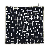 Cushion cover Mondriaan black