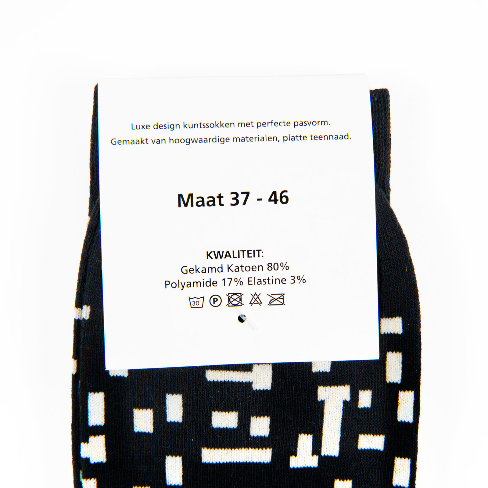 Mondriaan sokken gezocht?